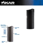 XIKAR Ellipse III Black