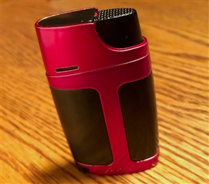 Xikar ELX Double Flame Lighter Red on Black