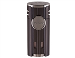 Xikar HP4 Triple Flame Lighter - Black