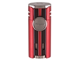Xikar HP4 Triple Flame Lighter - Daytona Red