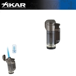 XIKAR Tech Double Flame Black