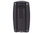 Xikar Turismo Double Flame Lighter - Matte Black