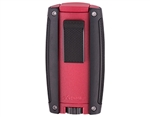 Xikar Turismo Double Flame Lighter - Matte Red