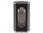 Xikar Verano Single Flat Flame Lighter - Black