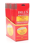 "Dills 6"" Bristle Pipe Cleaner (20 Packs of 32)"