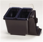 Mini Dome (2) 1.5 Pt Deep Trays w/Notched Lids