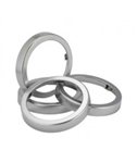 EZ-Fit Chrome Finish Rings
