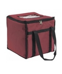 Insulated Food Carrier - Maroon