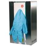 Disposable Glove Dispenser - 1 Box Capacity - Stainless Steel