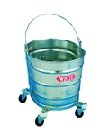 26-Quart Metal Mop Bucket
