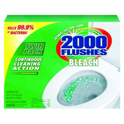 2000 Flusheså Bleach Antibacterial Automatic Bowl Cleaner