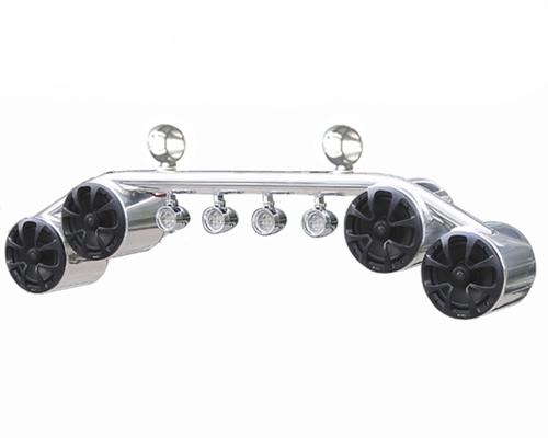 Krypt 6 5 Quot Wakeboard Tower Speaker Light Bar Combo