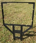 "Radio Sign Frame - 18"" x 24"" Black Plastic"