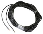 100 Feet of 3 Conductor 18 AWG Extension Cable for RGB Pixel / Smart Lights in Black Jacket / ROUND