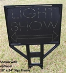 Light Show Directional Arrow Sign