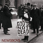 Gods Not Dead by Newsboys (12w x 50h Pixel Sequence)