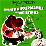 I Want A Hippopotamus For Christmas by Gayla Peevey (12w x 50h Pixel Sequence)