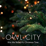 Kiss Me Babe It's Christmas Time by Owl City (12w x 50h Pixel Sequence)