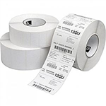 "Zebra 800274-155 Thermal Transfer Paper Label (4"" x 1.5"") Z-Select 4000T, 12 Rolls"