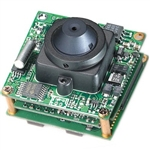 KT&C ACE-EDR380NUP1 700TVL True WDR Module Camera, 0.08Lux(Color)/0.04Lux(B/W), 3.7mm Semi Cone Pinhole Lens