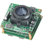 KT&C ACE-EDR380NUP4 700TVL True WDR Module Camera, 0.08Lux(Color)/0.04Lux(B/W), 4.3mm Super Cone Pinhole Lens
