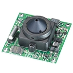 KT&C ACE-M381NHP4 550TVL Color Board Module Camera, 4.3mm Super Cone Pinhole Lens