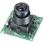 KT&C ACE-M385NHB 600TVL Color Board Module Camera, 3.6mm Board Lens
