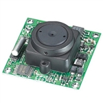 KT&C ACE-M385NHP3 600TVL Color Board Module Camera, 3.7mm Flat Pinhole Lens