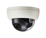 KT&C KPC-DQ100NHBW 550TVL Indoor Compact Color Dome Camera, 3.6mm Board Lens, DC12V, White