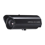 KT&C KPC-HD353CHL 520TVL High Quality Outdoor Bullet 3X Digital Zoom Camera, 4-8mm Manual Lens, Sunshield, Silver