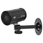 KT&C KPC-HDB450MW 1080p 2.1MP HD-SDI Mini Bullet Camera, 3.6mm Megapixel Board Lens, OSD, Digital D/N, White
