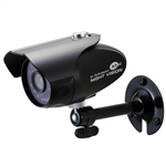 KT&C KPC-HDN300M 1080p HD Outdoor IR Bullet Camera, 3.7mm Megapixel Fixed Lens, OSD, 20 IR LEDs, DC12V, Black Body