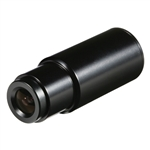 KT&C KPC-S190SB1 420TVL Super Mini Indoor Bullet B/W Camera, 3.6mm Board Lens, BNC Cable, Mounting Bracket, DC12V