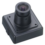 KT&C KPC-VSN500NHB 550TVL Super Mini Square Color Camera, 3.6mm Board Lens