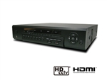 KT&C KVR-HD0400S 4 HD-SDI Stand Alone DVR (1080i, 1080p or 720p, Auto Select), VGA/HDMI Output,  Max 60fps@720p/30fps@1080p