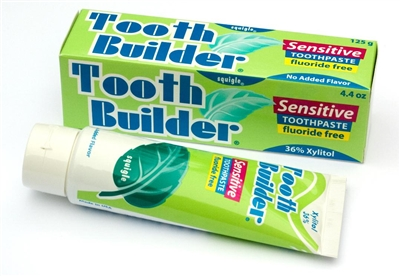 "<span style=""color: #bf0000;"">NEW!</span> - Tooth Builder Sensitive Toothpaste"