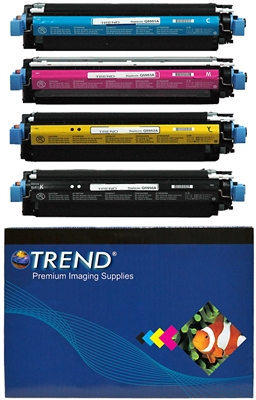 HP 4700 Color Toner Bundle Set of 4 CMYK