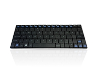 KYB-MINIMUS-BTWB - Accuratus Minimus - Minimalist Ultra Sleek Mini Bluetooth® Wireless Keyboard for PC