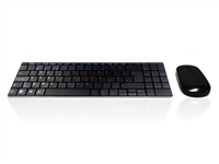 KYB-MINIMUSX-RFB - Accuratus Minimus X - Minamalist Ultra Sleek Wireless RF 2.4GHz Keyboard & Mouse Set