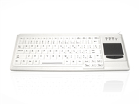 KYB500-K82F-UWH - Accuratus K82F - USB Ruggedised Mini IP55 Keyboard with Touchpad