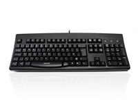 KYBAC260-PS2LCBK - Accuratus 260 Lower Case - PS/2 Full Size Lower Case Professional Keyboard with Contoured Full Height Touch Typing Keys & Patented One Touch Euro Key