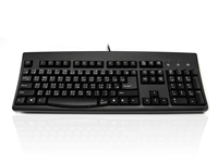 KYBAC260UP-BKHK - Accuratus 260 Hong Kong - USB & PS/2 Full Size Hong Kong Layout Professional Keyboard with Contoured Full Height Touch Typing Keys