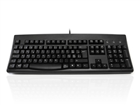 KYBAC260UP-BKSW - Accuratus 260 Swiss - USB & PS/2 Full Size Swiss Layout Professional Keyboard with Contoured Full Height Touch Typing Keys