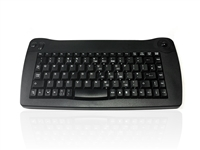 KYBAC573-USBBLK - Accuratus 573 - Wireless Infra Red Mini Keyboard with Trackball