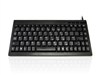 KYBAC595-PS2BLK - Accuratus 595 - PS/2 Professional Mini Keyboard with Mid Height Keys