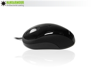 MOU-IMAGE-NANOBK - Accuratus Image NanoArmour Mouse - USB Full Size Glossy Finish Antibacterial Computer Mouse - Black