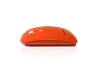 MOU-IMAGE-RF-ORA - Accuratus Image RF - Wireless RF 2.4Ghz Sleek Slim Glossy Finish Optical Mouse with Nano Receiver - Orange