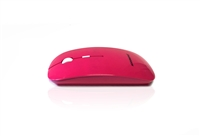 MOU-IMAGE-RF-PIN - Accuratus Image RF - Wireless RF 2.4Ghz Sleek Slim Glossy Finish Optical Mouse with Nano Receiver - Hot Pink