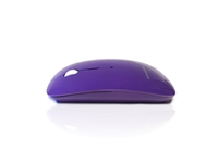 MOU-IMAGE-RF-PUR - Accuratus Image RF - Wireless RF 2.4Ghz Sleek Slim Glossy Finish Optical Mouse with Nano Receiver - Purple