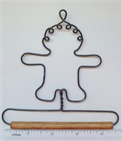 "4"" Gingerbread Man (Grey)"